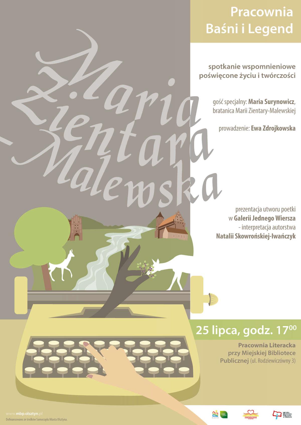 Pracownia Baśni i Legend: Maria Zientara-Malewska. Spotkanie wspomnieniowe - full image