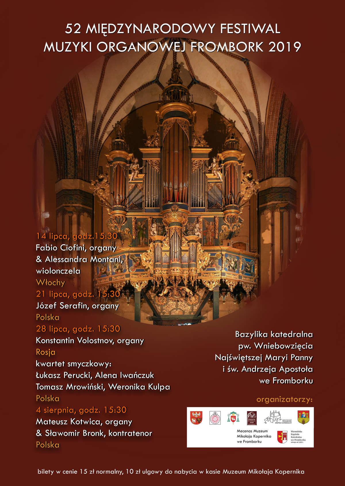 koncerty fromborskie 2019  - full image