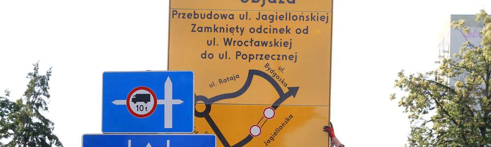 Otwarcie ulicy Jagiellońskiej w Olsztynie i zmiany w organizacji ruchu