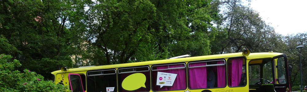 Autobus Kultury czeka do piątku w parku Podzamcze
