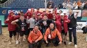 Młodzi szczypiorniści z Iławy pomagali przy organizacji plażowych mistrzostw Europy [ZDJĘCIA]