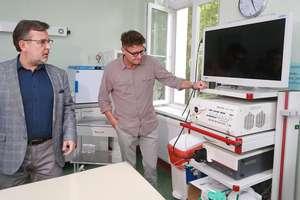 Znany aktor odwiedził szpital w Olsztynie [ZDJĘCIA]
