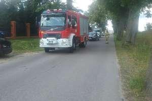 Wypadek na drodze koło Ostródy. Ranna rowerzystka