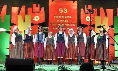 """Sukces """"Prząśniczek"""" na festiwalu w Kazimierzu Dolnym"""