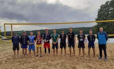 Turniej siatkówki plażowej w Lidzbarku