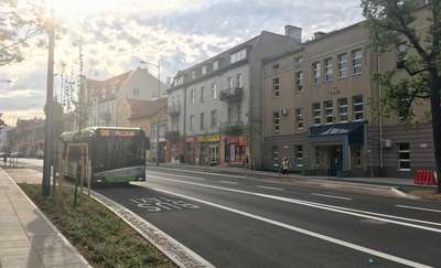 Przebudowa ul. Partyzantów w Olsztynie prawie zakończona. Jak zmieniła się ulica? [VIDEO]