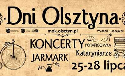 Dni Olsztyna: koncerty, jarmark i kataryniarze