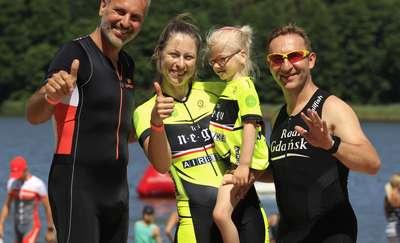 LOTTO Triathlon Energy w Lidzbarku wygrały Kornelka i jej mama Ewa [ZDJĘCIA]