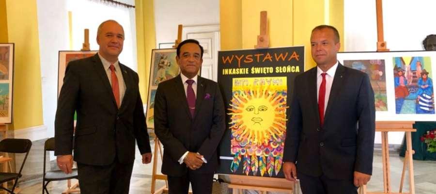 Ambasador dziękował bieżuńskiej delegacji za inicjatywę współpracy