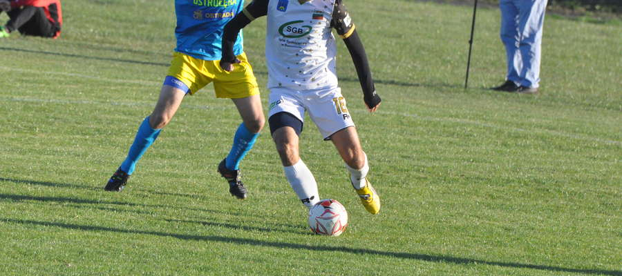 Bartłomiej Nowacki zdobył jedną z bramek w meczu ze Spartą Brodnica