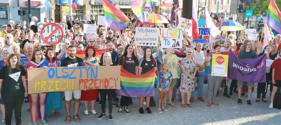 Protest przeciw nienawiści