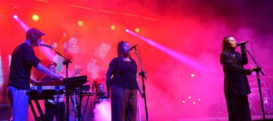 Muzyczną gwiazdą wieczoru była Paulina Przybysz z zespołem