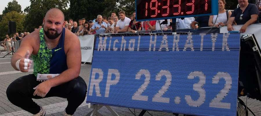 Michał Haratyk i jego nowy kapitalny rekord Polski