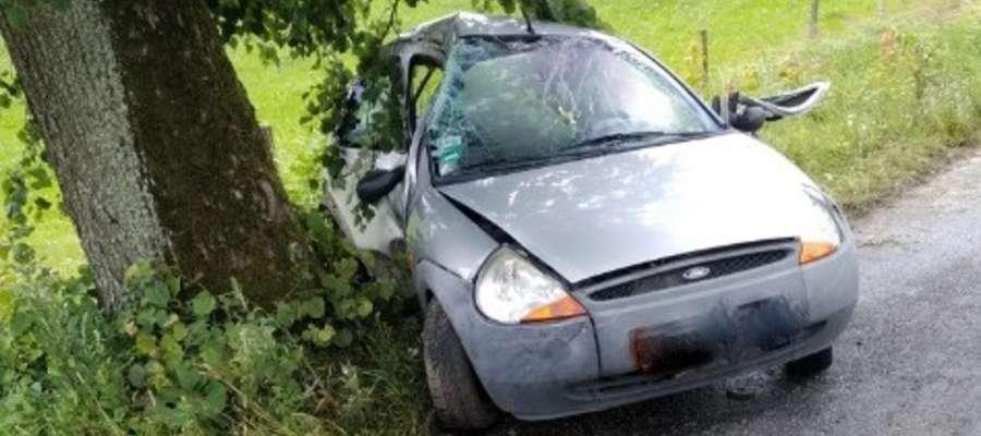 Na drodze w miejscowości Barty w gm. Zalewo doszło do wypadku, w którym śmierć poniósł 49-letni mężczyzna