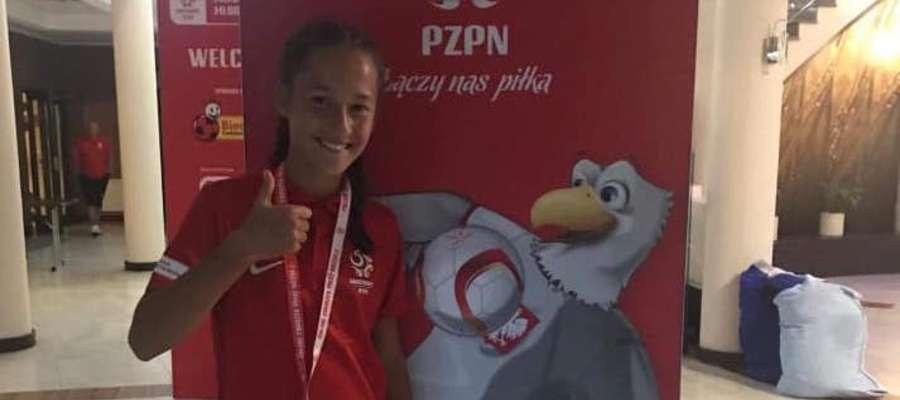 Anna Gliszczyńska na letnim zgrupowaniu AMO w Gniewinie