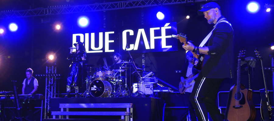 Zespół Blue Cafe był gwiazdą tegorocznych Dni Gminy Kurzętnik i Expom S.A.