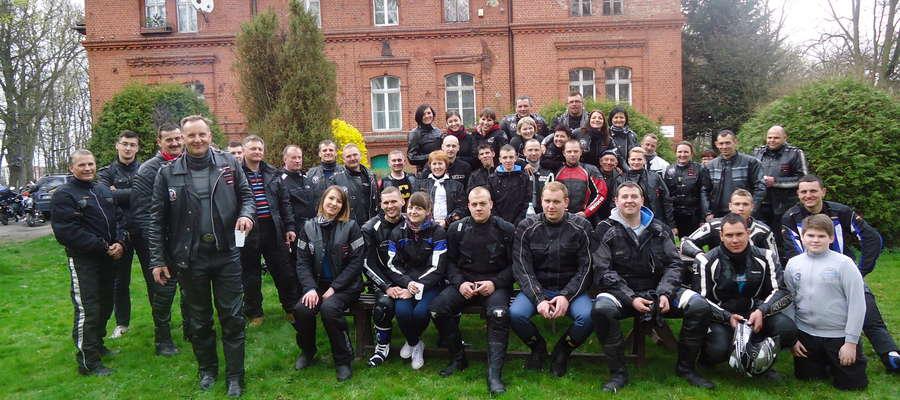 motocykilści z Braniewa