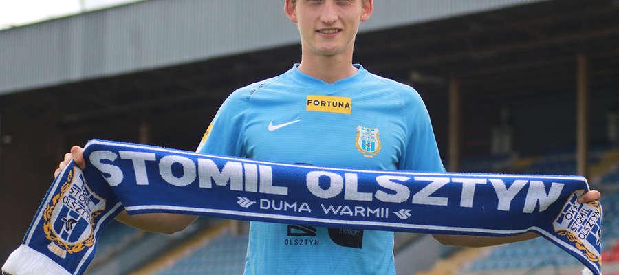 Wojciech Hajda, nowy pomocnik Stomilu Olsztyn