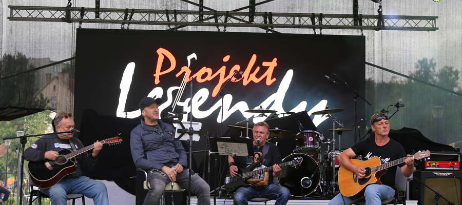 Projekt Legendy tworzy czterech doświadczonych muzyków