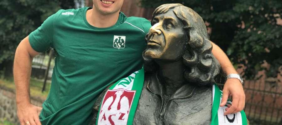 Wojciech Żaliński, nowy przyjmujący Indykpolu AZS Olsztyn