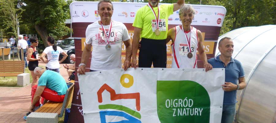 Olsztynianin Marek Grzyb na najwyższym stopniu podium oszczepników
