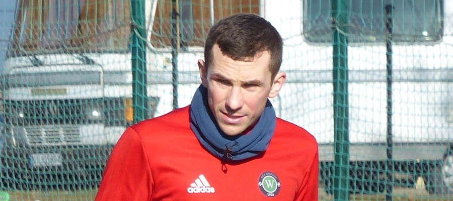 Piotr Kacperek gra w GKS-ie Wikielec od sezonu 2011/12