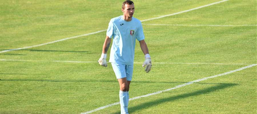 Pawel Rudneu ze Zniczem jest związany od kilku lat, a w poprzednim sezonie rozegrał w III lidze dziewięć meczów