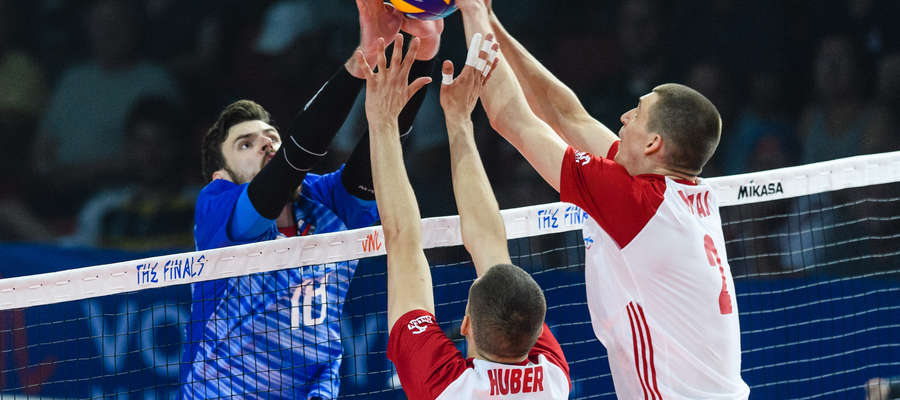 Polacy nie dali rady Rosji w półfinale Ligi Narodów