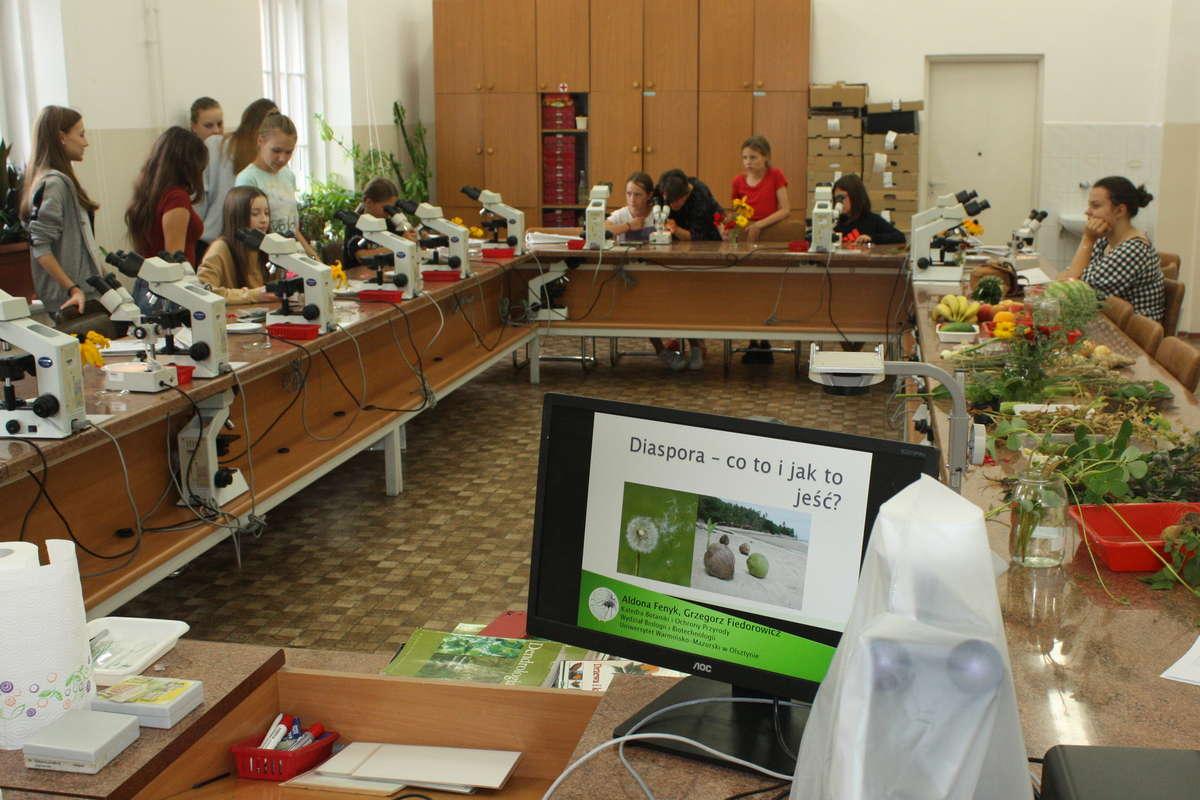 Zajęcia UMO na Wydziale Biologii
