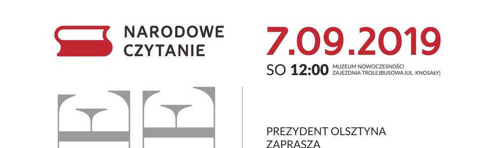 Narodowe Czytanie w Olsztynie