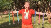 Kolejne wyzwanie za bartoszyckim biegaczem. Pokonał siedem maratonów w siedem dni w... Afryce