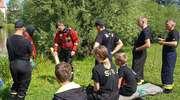 Ćwiczenia z ratownictwa wodnego w Ornecie