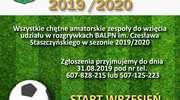 Rusza Amatorska Liga Piłki Nożnej. Zgłoś swojądrużynę