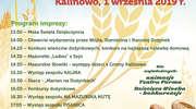 Dożynki gminy Kalinowo już 1 września