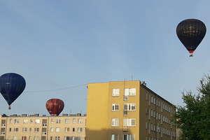 Kolorowe balony opanowały niebo nad regionem