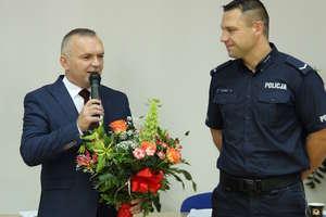 Sierżant Andrzej Łochnicki  uhonorowany