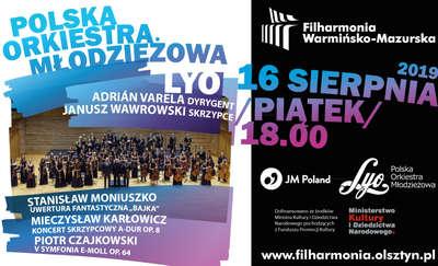 Koncert Polskiej Orkiestry Młodzieżowej LYO