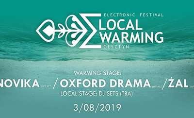 Dwie sceny, wybitni artyści. Local Warming już w sobotę w Olsztynie!