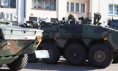 Na ulicach Mławy pojawiły się czołgi