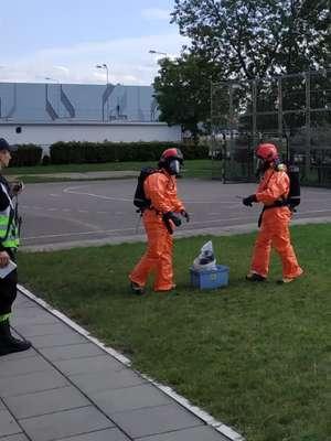 Groźny wyciek w szkole, szybka reakcja strażaków