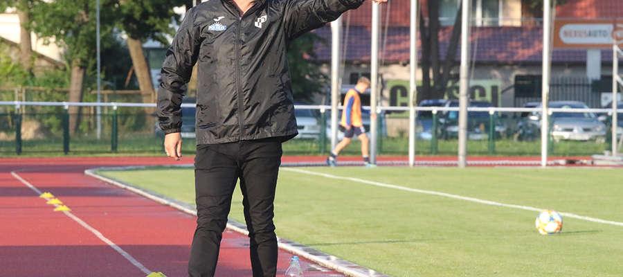 Chcielibyśmy wywalczyć jak najwięcej punktów, żeby jak najwcześniej mieć komfort w grze – mówi trener Czesław Żukowski