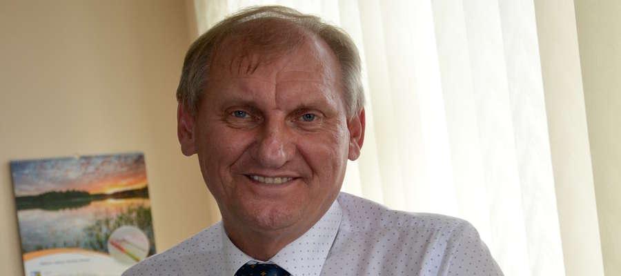 Krzysztof Harmaciński, wójt gminy Iława
