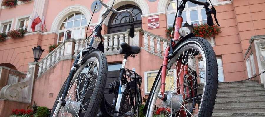 Nowe rowery dla urzędników