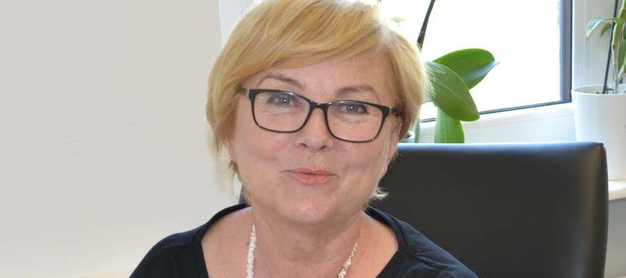 Lucyna Kaucz w poradni pracuje od 1984 r., a od 1999 jest certyfikowanym specjalistą psychoterapii uzależnień