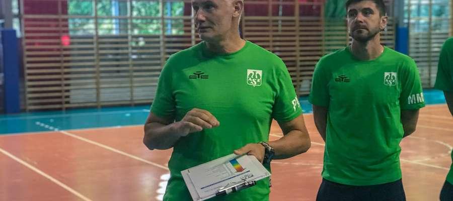 Paolo Montagnani i Marcin Mierzejewski, drugi trener