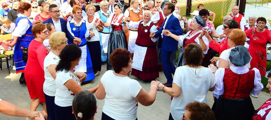 Podczas ubiegłorocznych Tylickich Spotkań z Folklorem