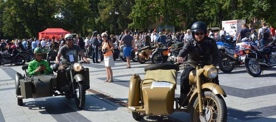 I Olecki rajd Motocykli Zabytkowych