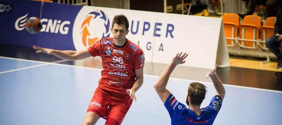 Damian Przytuła (MMTS Kwidzyn) w akcji