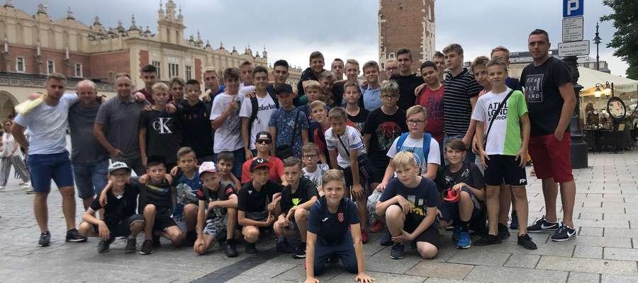 Piłkarze AP Ostróda przygotowują się na zgrupowaniu w Krakowie