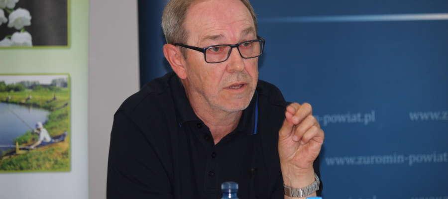 Janusz Welenc apeluje o starania mające na celu zatrzymanie słodkiej wody na terenie powiatu